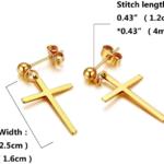 Screenshot_2020-08-11 Amazon com YZstyle Stainless Steel Earrings Cross Drop Dangle Studs Earrings Piercing Jewelry for Men[…]