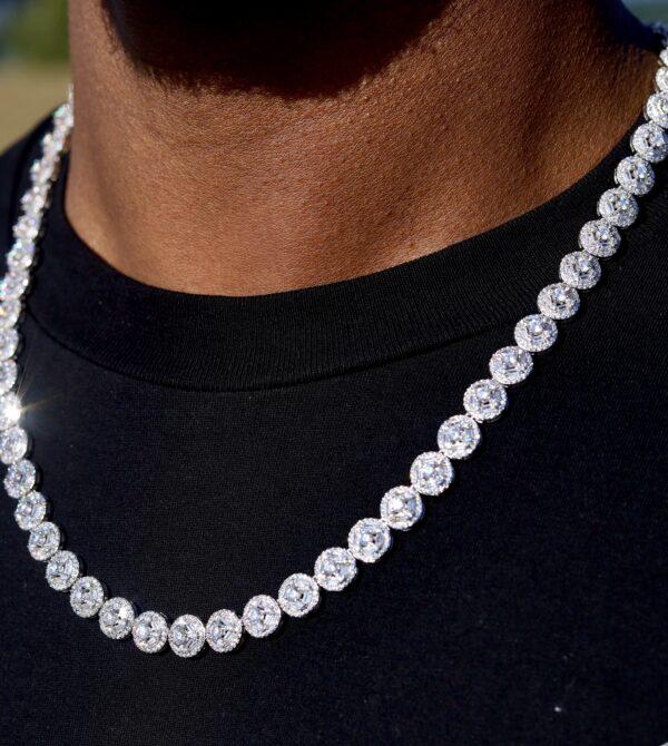 cluster diamond chain