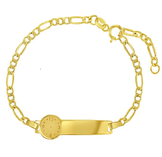 14k gold kids braclet