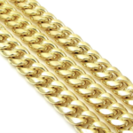 10K Yellow Gold 7 MM Hollow Miami Cuban 20 '' Chain 24.4 grams.