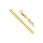 Screenshot_2020-07-11 Amazon com Pori Jewelers 10K Gold 5MM Hollow Curb Cuban Chain Bracelet Necklace-Made in Italy (Yellow[…](1)