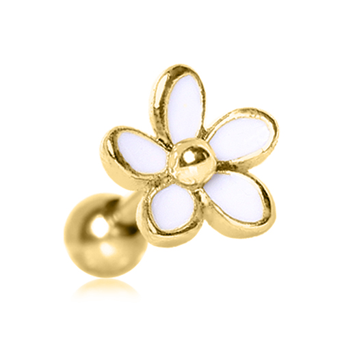 Gold Plated Sweet Daisy Cartilage Earring