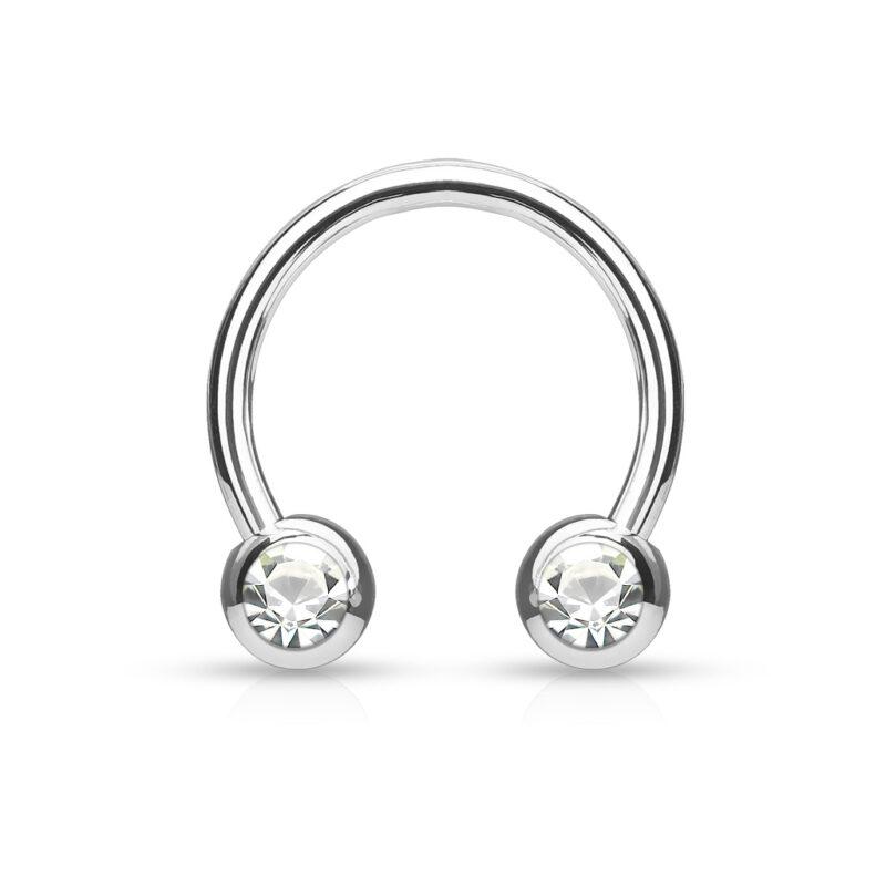 Circular/ Horseshoes For Nipple/ Septum and Ear Cartilage Piercings