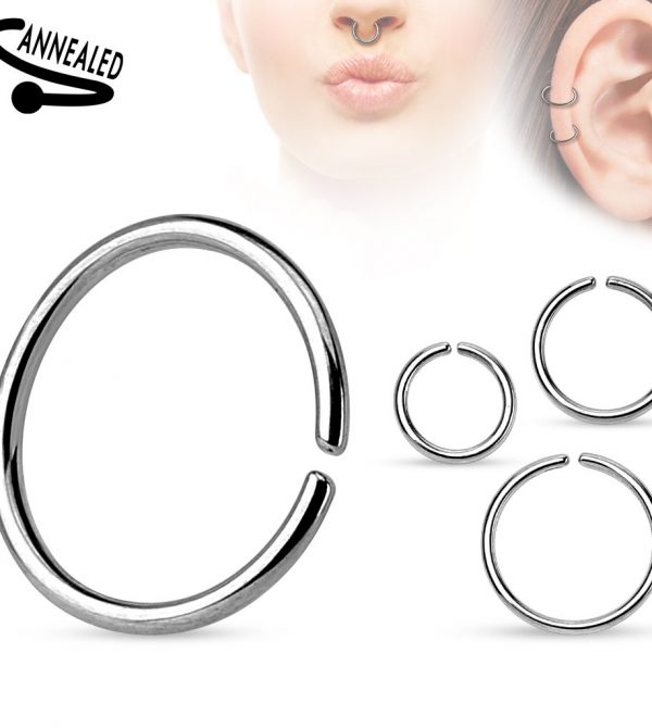 Annealed and Rounded Ends Cut Ring