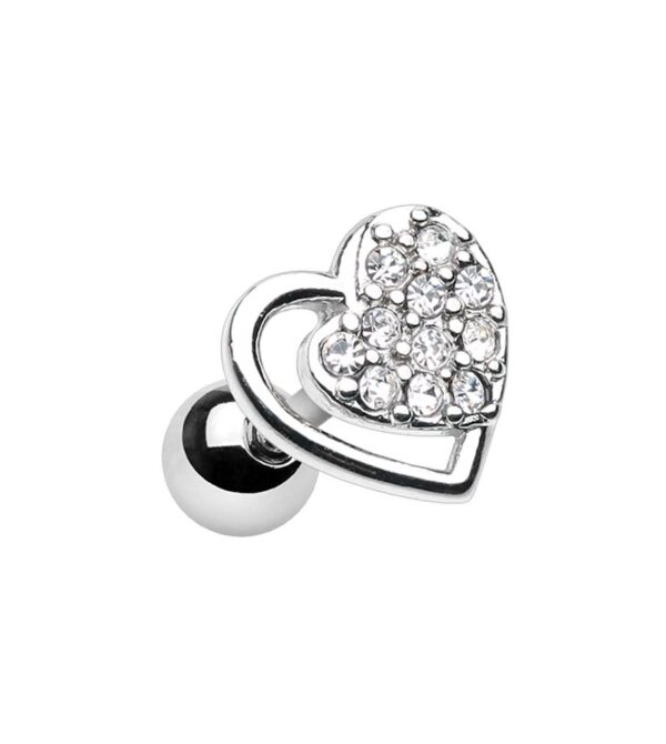 Dreamy Heart Cartilage Tragus Earrings